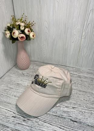 Женская кепка (бейсболка) на каждый день светло-розовая с надписью