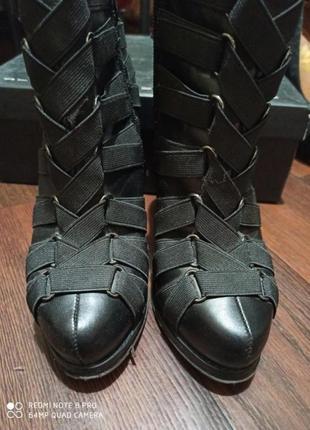Фирменные туфли ботильоны сапоги сапожки ботинки