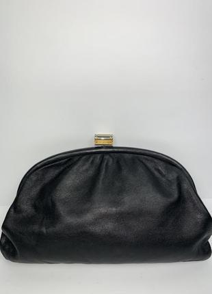 Италия! кожаная сумка- клатч- косметичка- пельмень.