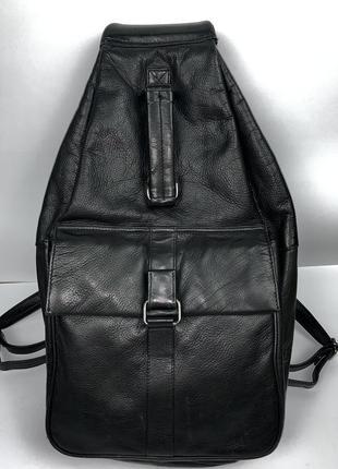 Англия! большой кожаный фирменный рюкзак taurus.