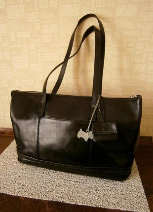 Большая. красивая сумка из натуральной кожи radley
