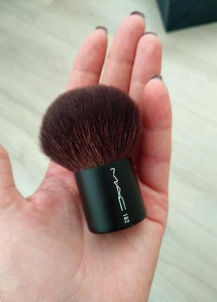Кисть пушистая 182 buffer brush от mac
