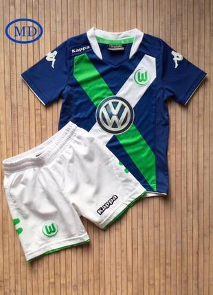 Футбольная форма «вольфсбург» на мальчика 5-6 лет