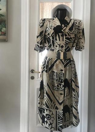 Платье шёлк италия.