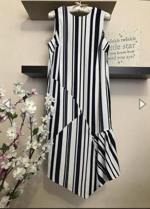 Красивое асимметричное платье, платье миди,