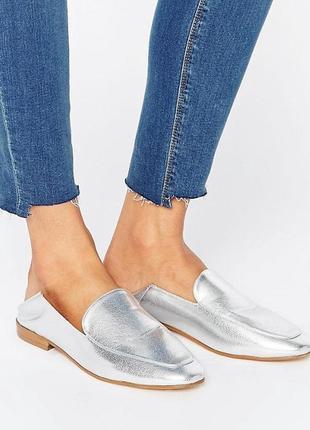 Туфли лоферы asos