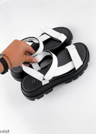 Босоножки сандали натуральная кожа2 фото