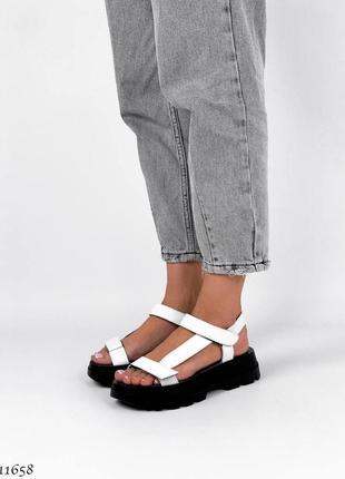 Босоножки сандали натуральная кожа5 фото