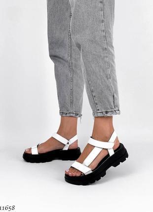 Босоножки сандали натуральная кожа6 фото