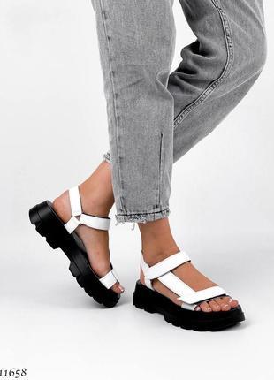 Босоножки сандали натуральная кожа8 фото