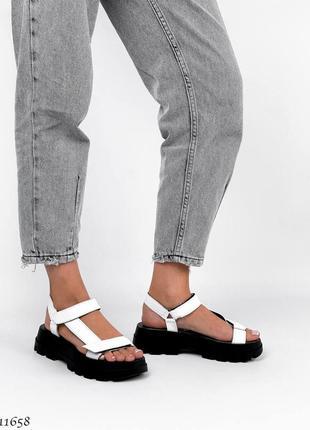 Босоножки сандали натуральная кожа7 фото
