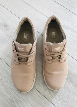 Полуботинки, кожаные ботинки, светло розовые кроссовки.