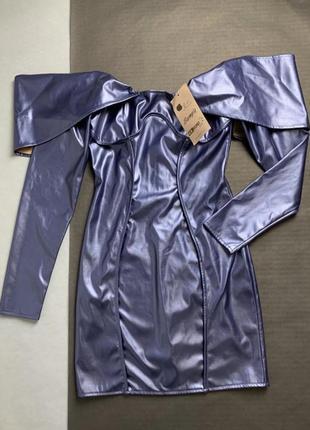 Платье синее знижка 10-12 серпня!2 фото