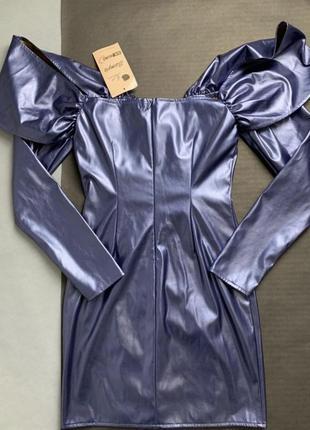 Платье синее знижка 10-12 серпня!4 фото