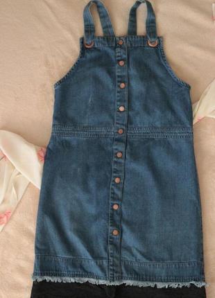 Классный джинсовый сарафанчик