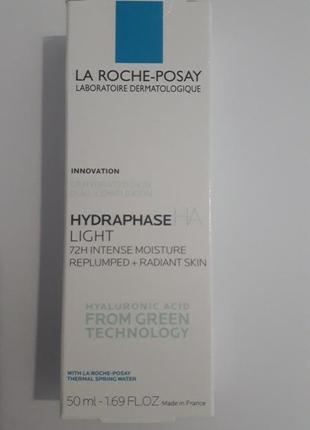 La roche-posay hydraphase ha light интенсивный увлажняющий крем для нормальной и комбинированной.