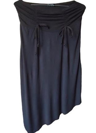Ассиметричная трикотажная юбка