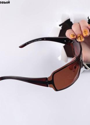 Стильные очки солнцезащитные, имиджевые. хит-20212 фото