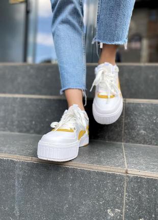 Женские кроссовки puma cali5 фото