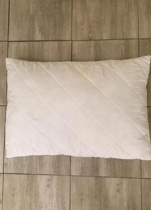 Подушка сатиновая гипоаллергенная с хлопком english home