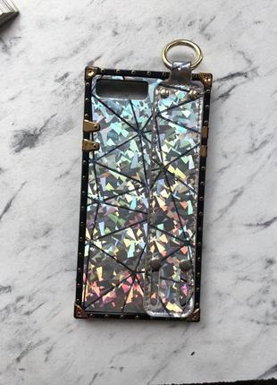 Чехол на айфон 7+ 8+ с держателем