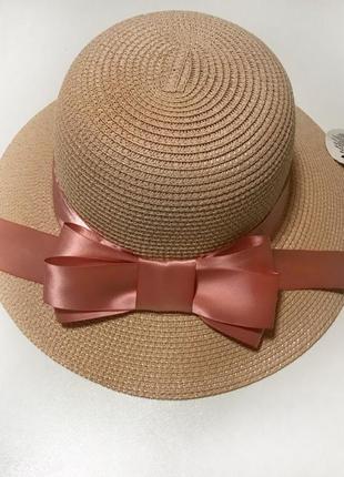 Новая шляпа шляпка пляжная