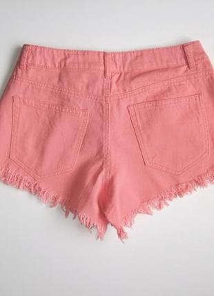 Джинсовые шорты vero moda.5 фото