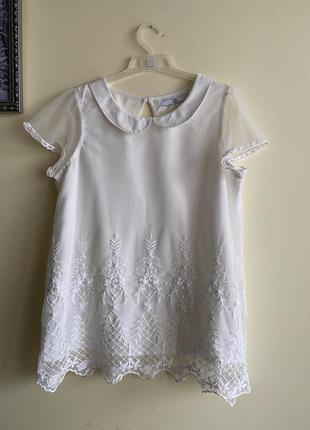 Нарядна блуза на дівчинку 12-13 років, m&s. блузка, футболка