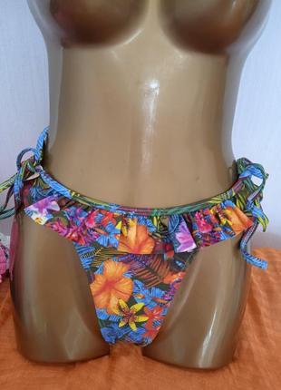 Трусики купальные,бразильяно,расцветка универсальная