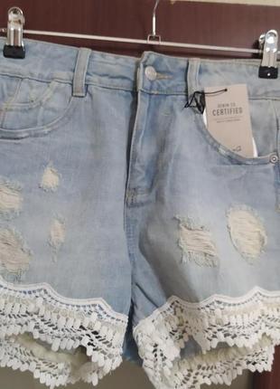 Шикарные шортмки джинсрвые