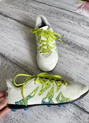 Крутые кроссовки для футбола кеды бутсы копы adidas размер 33(21см стелька)