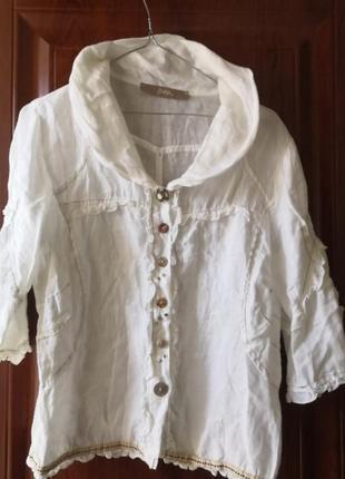 Льняная блуза bottega