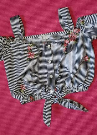 Блуза primark 8-9 лет рост 134 см