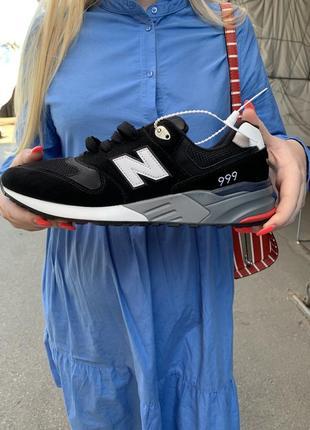 Стильные мужские демисезонные кроссовки new balance 997 новые чёрные