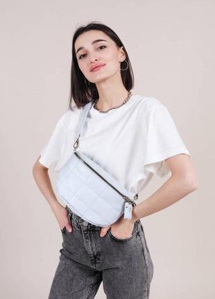 Поясная стёганая сумка