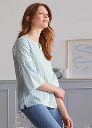 Блуза летняя из хлопка tchibo.