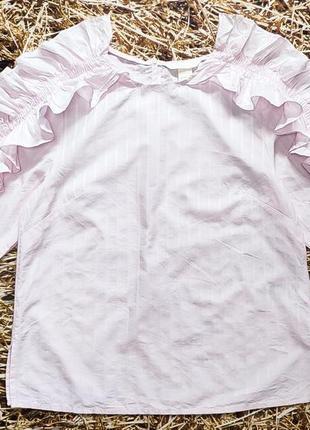 Новпя блуза, хлопок h&m