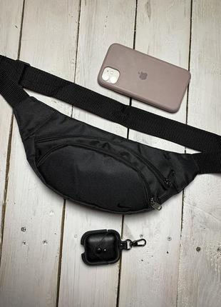 Новая качественная сумка - бананка через плечо на пояс / кросбоди / клатч слинг