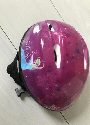 Шлем на девочку эльза 2-4 года