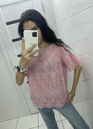 Легкая блуза ❤️ при покупке от двух вещей скидка 🥰