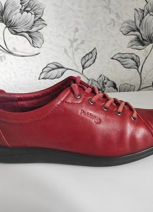 Туфли мокасины padders кожаные
