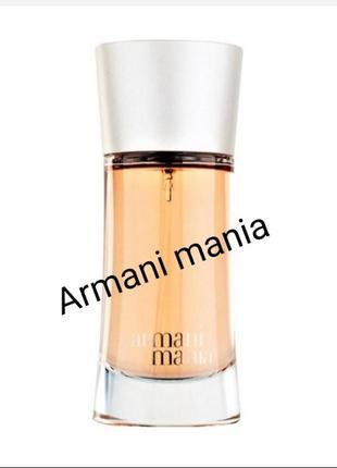 Armani mania парфюм духи парфюмированная вода