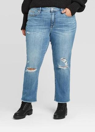 Ідеальні джинси мом котон стрейч 💙