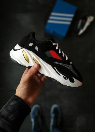 Женские кроссовки adidas yeezy 700 x gucci адидас, изики