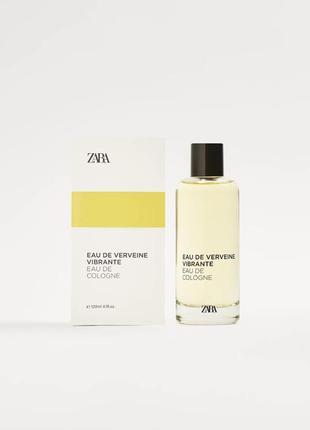 Зара zara парфюм для мужчин 120мл eau de verveine vibrante
