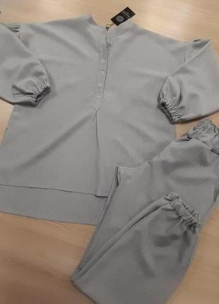 Супер трендовые костюмчики из смеси льна3 фото