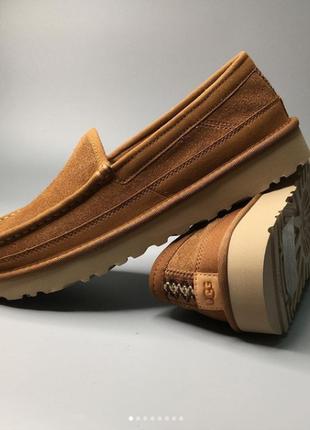 Теплые туфли лоферы ugg australia оригинал 41