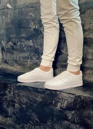Женские кроссовки adidas samba white