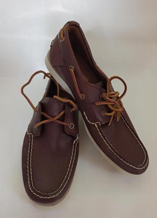 Timberland мокасины мужские.брендовая обувь stock