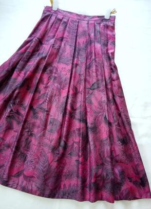 Louis lobatto сатиновая миди юбка
